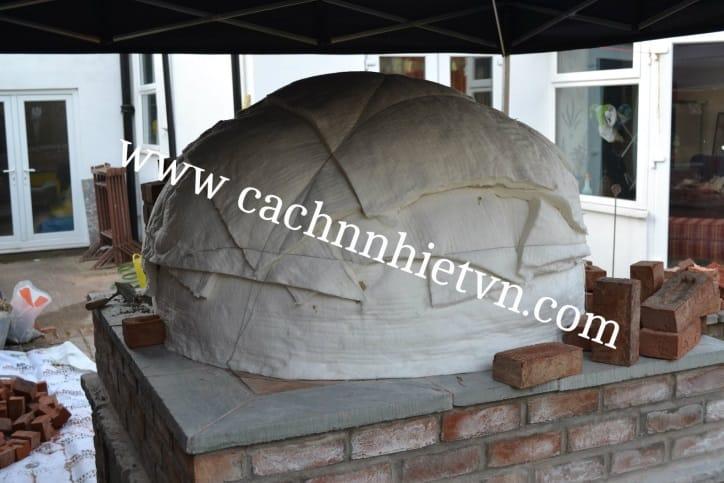 Bông gốm ceramic chịu nhiệt