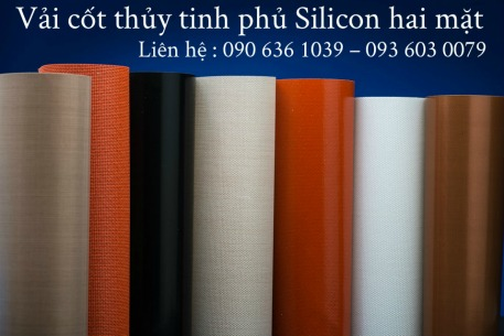 vải thủy tinh phủ silicone