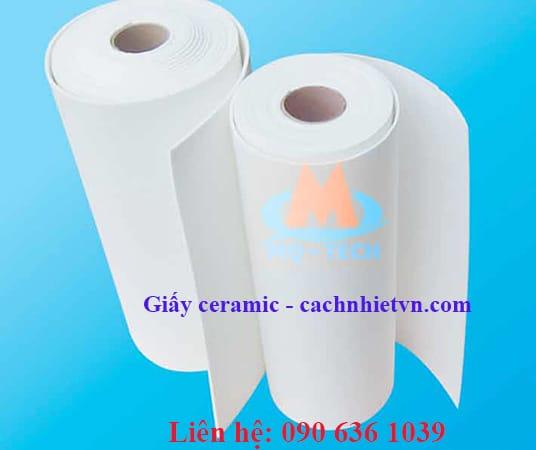 giấy ceramic chịu nhiệt