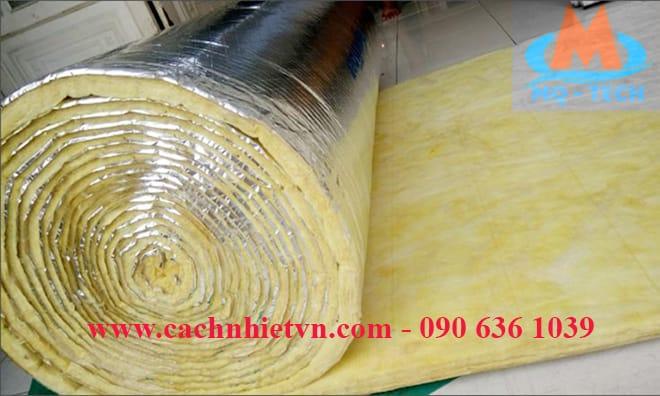 bông thuỷ tinh Thái Lan cách nhiệt glasswool