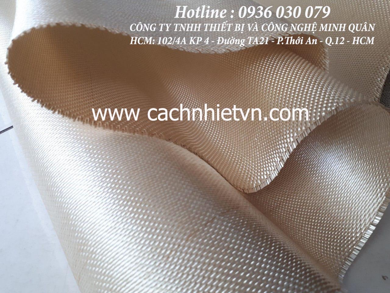 vải sợi thuỷ tinh ht800 chống cháy