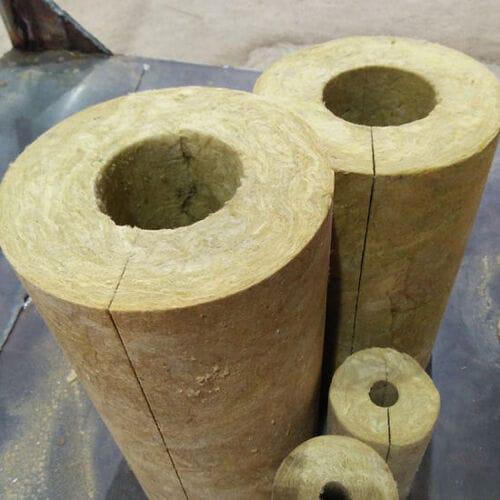 Bông khoáng rockwool dạng ống
