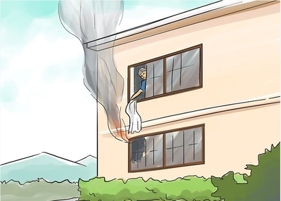 Cách Giữ An Toàn Khi Cháy Nhà