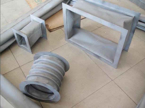 ống gió chịu nhiệt bằng vải silicone