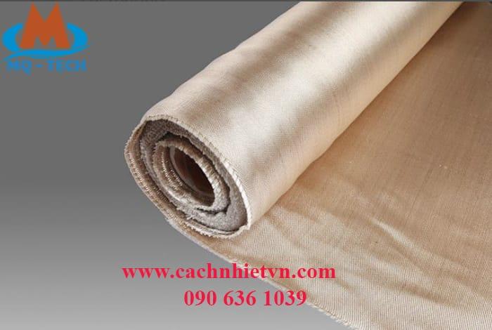 vải chống cháy - vải thuỷ tinh ht800
