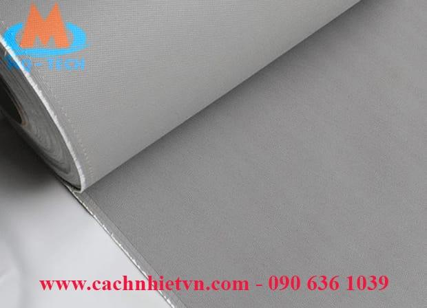 Vải thuỷ tinh phủ silicone màu xám