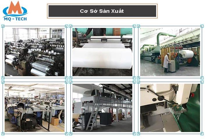 sản xuất vải thủy tinh